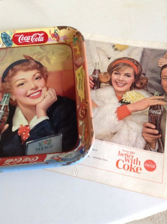 Awesome 1950's Coke Tray Thirst knows no by TheVintageEmpress, $35.00