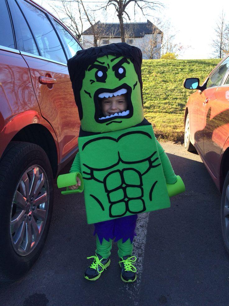 Lego hulk costume!! Homemade costumes rock!!