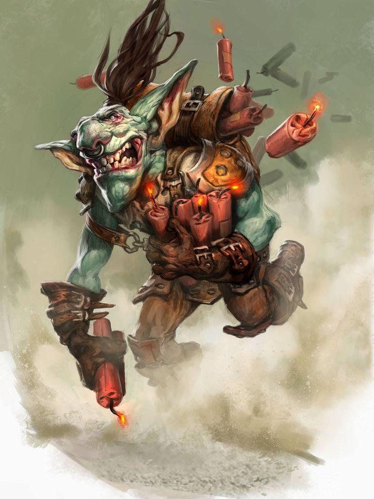 Card Name: Goblin Sapper Artist: Jesper Ejsing