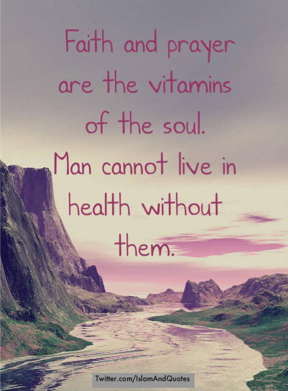 Vitamin of the soul