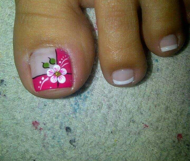 Pie #fantástico (con imágenes) | Arte de uñas de pies ...
