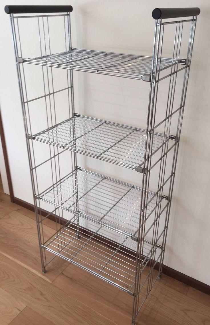 Balton chrome steel book shelf system (made in Germany) 3