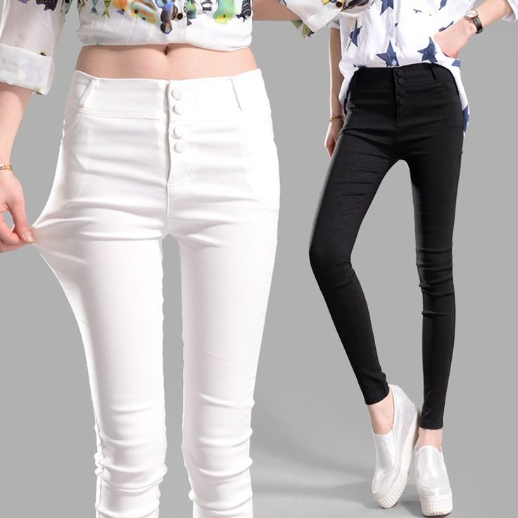 Fashion 2016 New Spring Summer Elegant Women Work Wear Slim Thin Pencil Pants Trousers For Women Plus Size S XXXL Leggings A705-in Pants & Capris from Women's Clothing & Accessories on Aliexpress.com | Alibaba Group