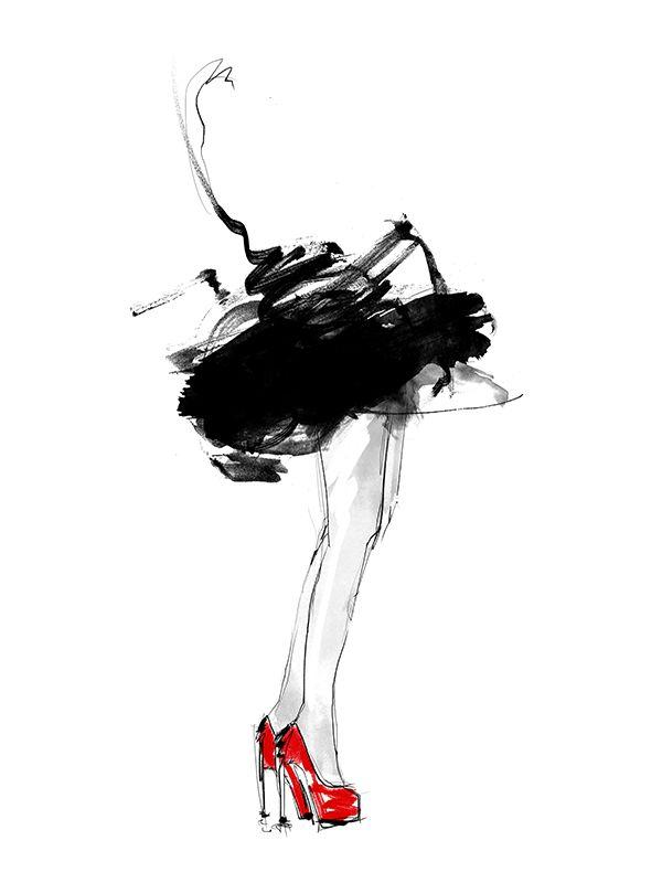 Red Shoes - Lotta Larsdotter