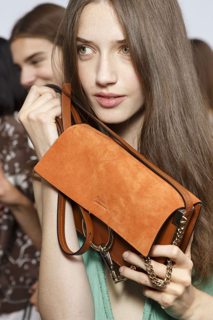 CHLOÉ Faye small leather and suede shoulder bag 2