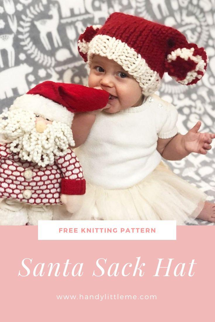 Santa Sack Hat – Free Pattern