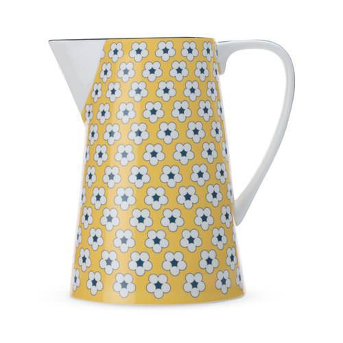 Christopher Vine Cotton Bud Jug 3.5L Yellow - Fast Shipping