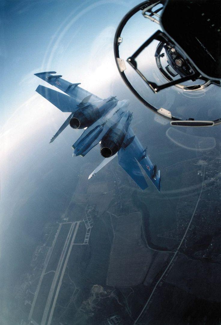 Russian Knights aerobatic team #russianknights #su27 #sukhoi #aviation #fighterjet
