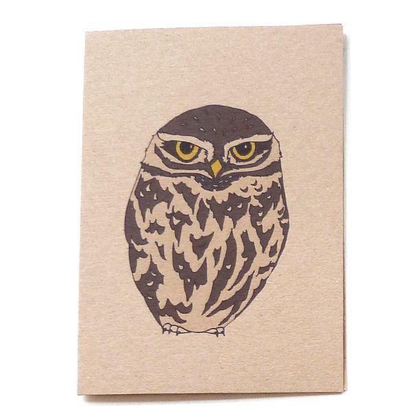 little owl card £2.50