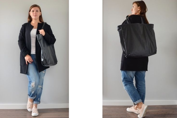 kardigan, sweter, długi sweter, wełniany sweter, torba, duża torba, torba z ekoskóry, handmade,