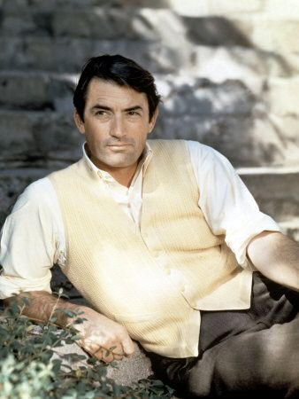 Gregory Peck - so handsome!