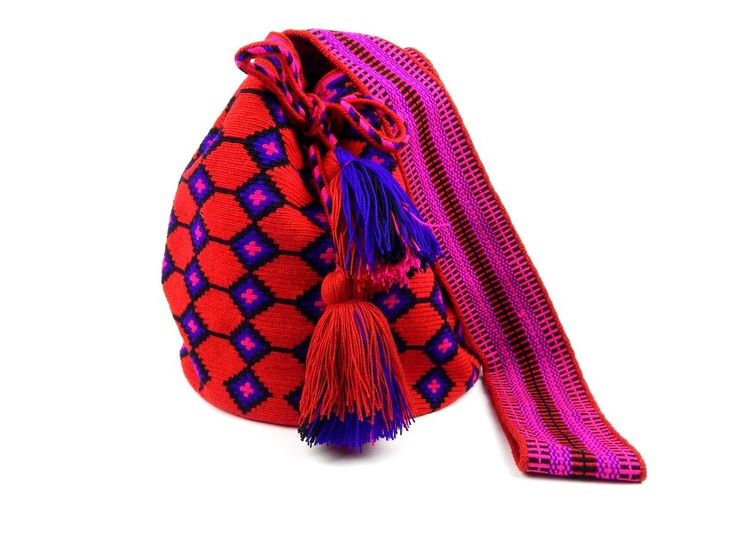 Fire Coral Wayuu - Colombian Handicrafts