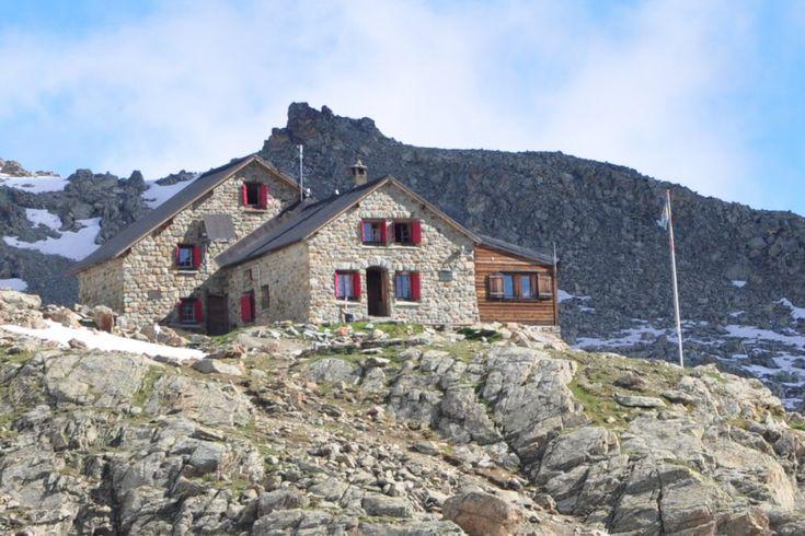 Cabane des Aiguilles-Rouges, swiss alps hotels, hostels & cabins