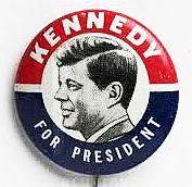 1960 ELECTION - JFK campaign button.