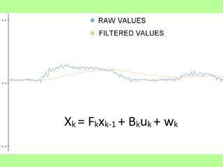 Stabilize Sensor Readings With Kalman Filter