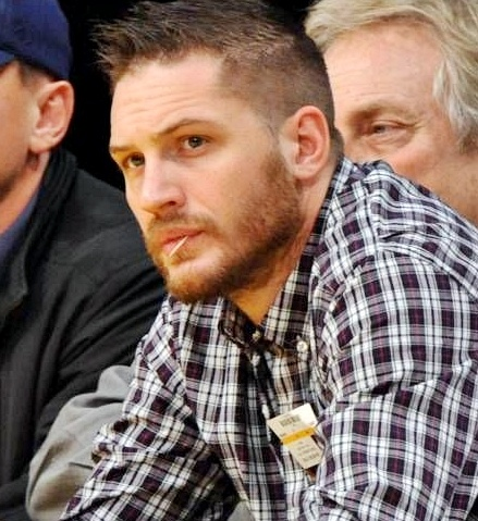 The very handsome Tom Hardy- it occurs I'm quite obsessed with British boys....