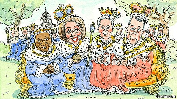 The royals of Capitol Hill House members have too much job security; that makes for bad government