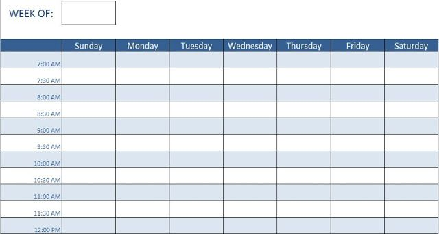 Employee Training Schedule Template In Ms Excel Schedule