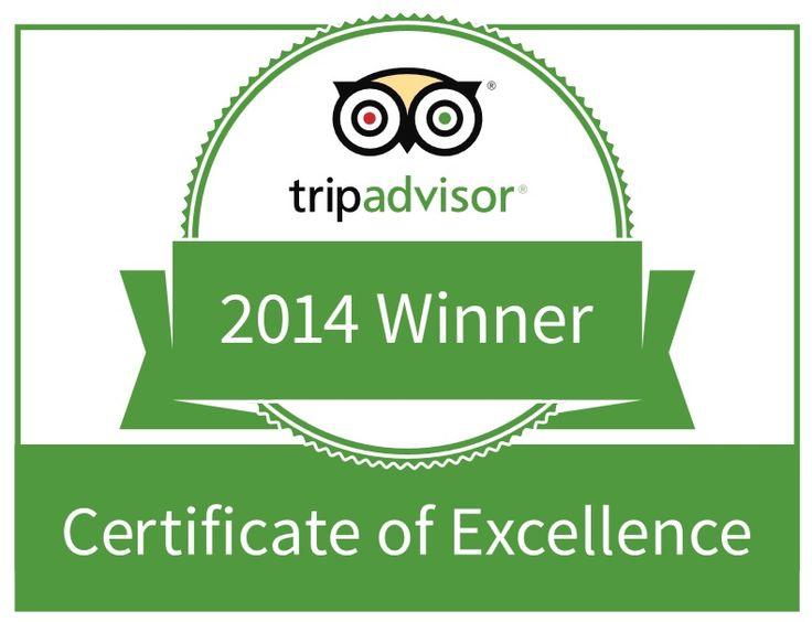 #tripadvisor #certificate #excellence #awards #hotel