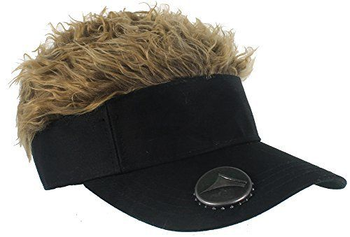 Flair Hair Visor Keep your head covered with the Original Flair Hair Visor. This spiky hair phenomenon offers sun protection plus full head of hair style. The perfect combination of fun and function, the Flair Hair Visor offers a comfortable adjustable fit from 19 to 22...