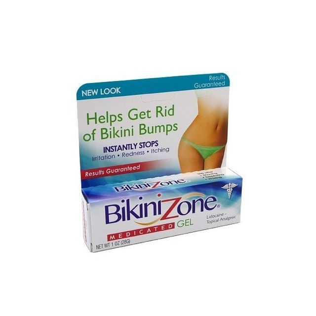 The Best Treatments for Ingrown Hairs: Bikini Zone Bump Busters– Medicated Gel