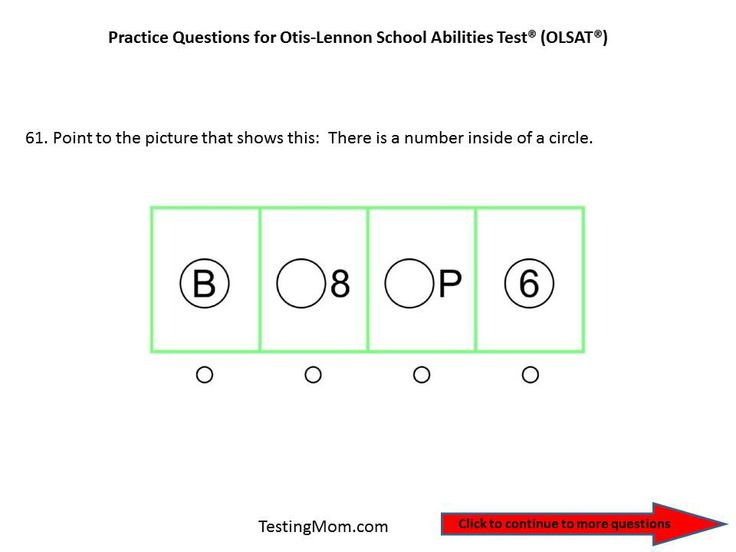 Worksheets Questions For Kindergarten 104 best images about test otis lennon school ability practice olsat questions for pre kindergarten to school