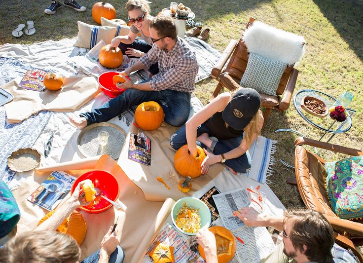 4 Tips for Hosting a Pumpkin-Carving Party — Gatherings From The Kitchn
