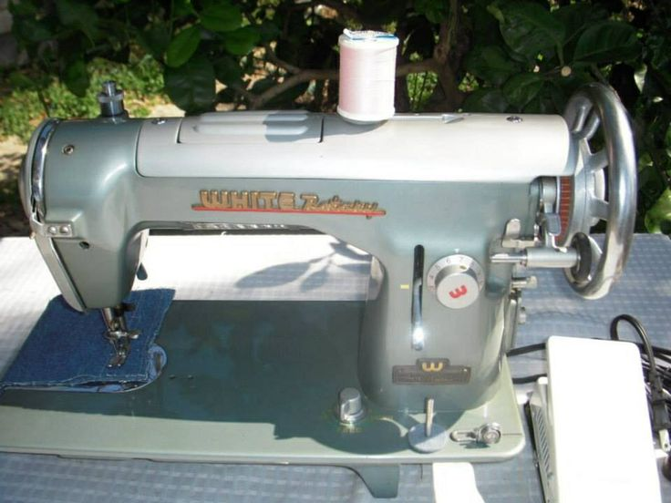 dating white rotary sewing machines Antique white rotary sewing machine in martha washington cabinet serial  number fr 309796 fr stands for family rotary last patent date listed on  the.