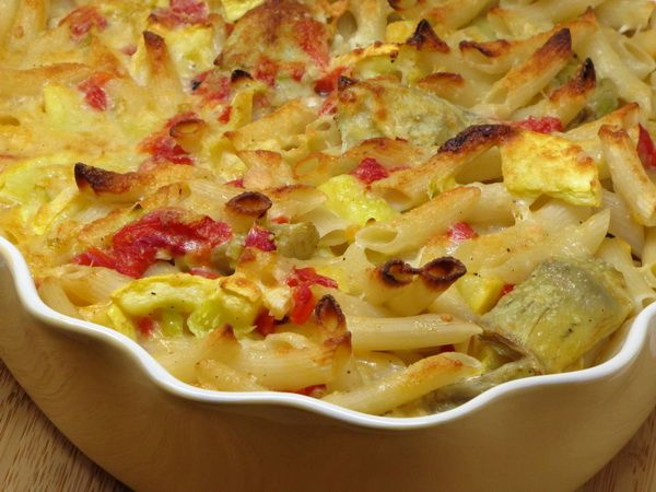 Veggie mac & Cheese...so I didn't use this recipe, but I used red and...