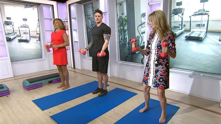 Exercise like Hoda Kotb in 3 minutes or less with this simple fitness routine - TODAY.com