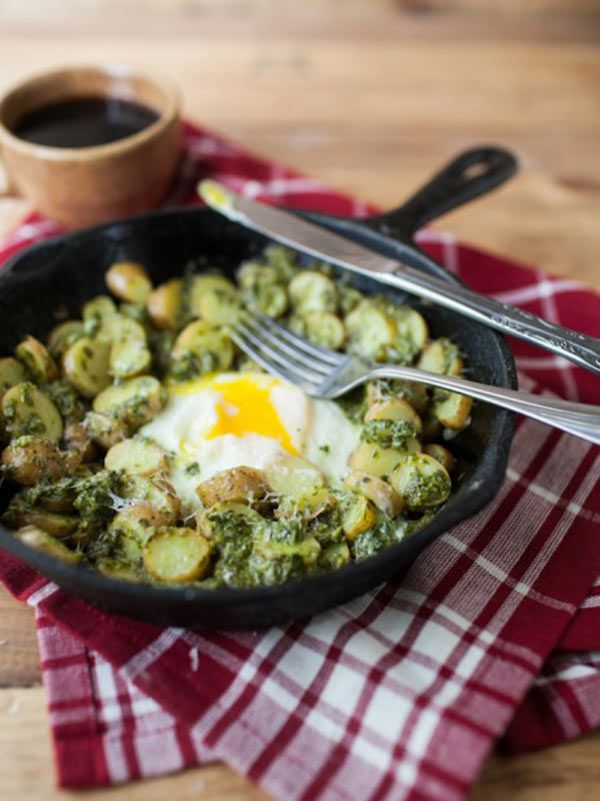 Pesto Potato Skillet. And a collection of other interesting ways to ...