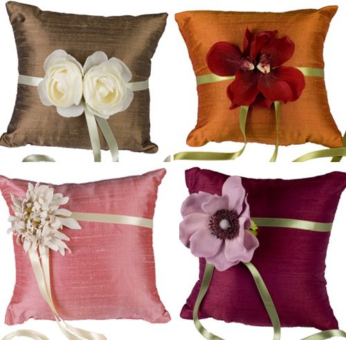 More ring pillow ideas