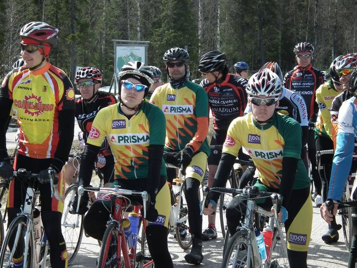 Ready for the start. (Photo by Matti Torvinen)