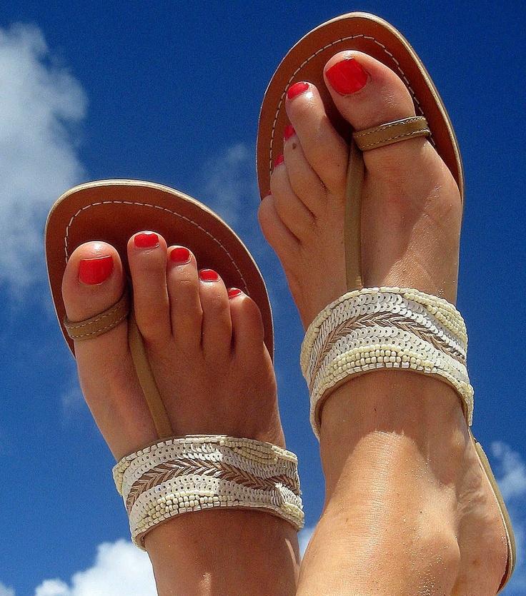 Aspiga Lalo leather beaded sandal