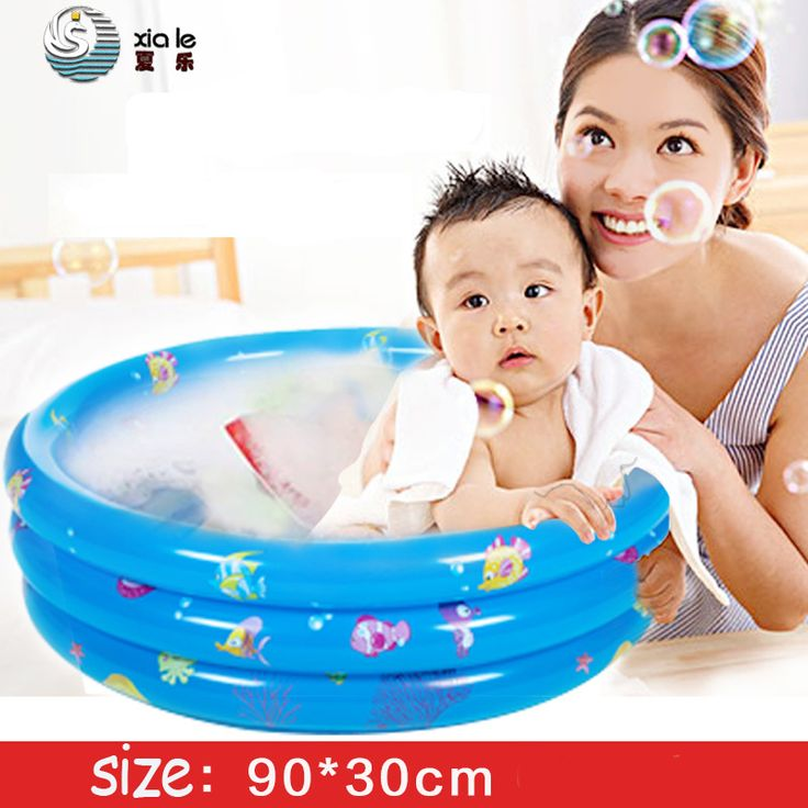 Inflatable Baby swimming pool Small piscina Folding baby bath tub inflatable Circular pool Babies Paddling Pool