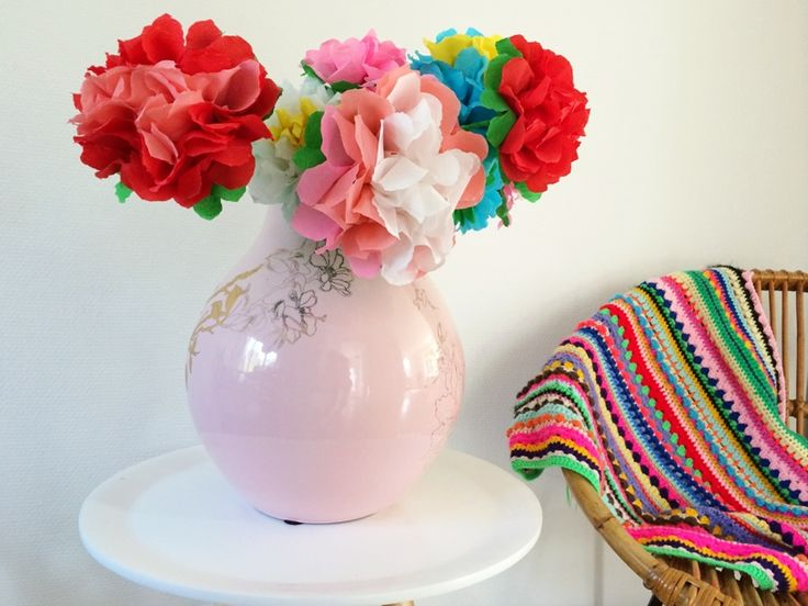 DIY Paper flowers, wow!