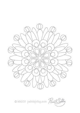 Image Result For Easy Corner Mandala Drawing Artsy Stuff