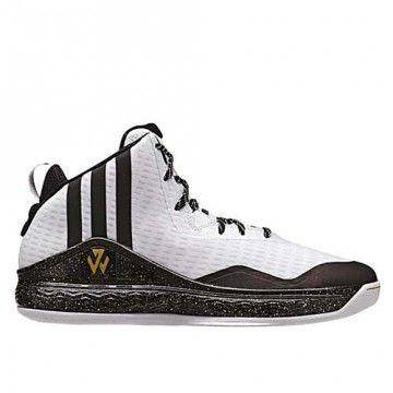 on sale d24da d8d1e ... Chaussures de basket Adidas John Wall blanches  adidas john wall blue  sky ...