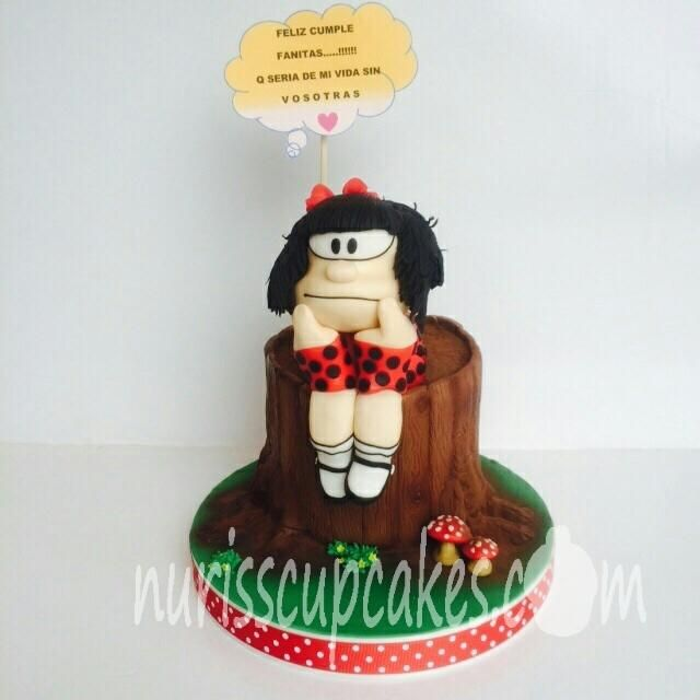 tart Mafalda - Cake by Nurisscupcakes