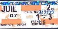 Petite histoire du ticket de métro parisien ...: 1967 : Un petit tour d'alphabet jusqu'à l'arrivée de la bande magnétique