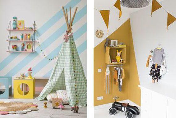 Ideas divertidas para pintar habitaciones infantiles | Adarve Photocollage