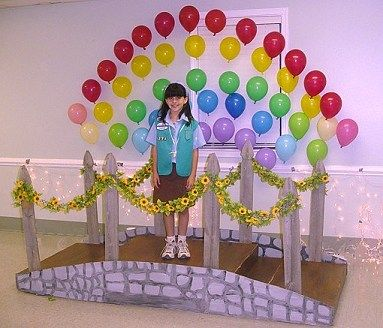 How To Make Bridge for Girl Scout Bridging Ceremony