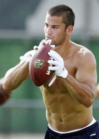 Eric Decker – the sexiest football player... Scratch that sexiest man alive