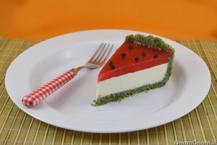 Scopri la ricetta di: Cheesecake all'anguria