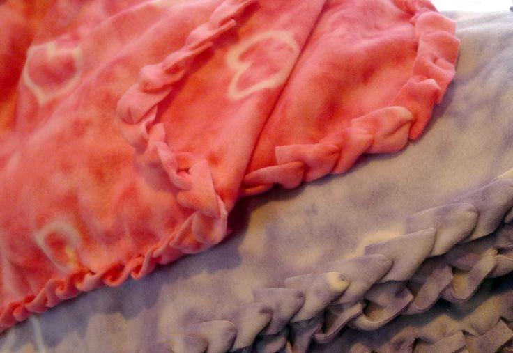 No Sew Fleece Blanket Tutorial Knots