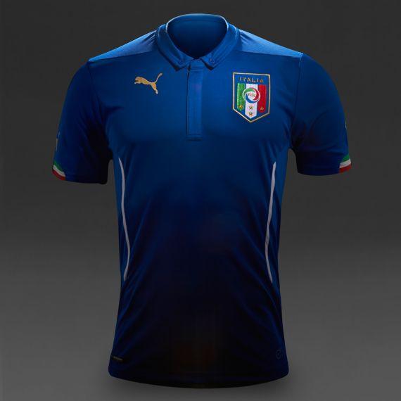 Puma Italy 2014 Home Shirt