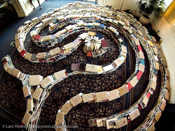 labyrinth made of objects - Google Search
