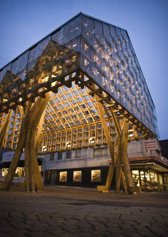 Noorwegen - Doen. Bijzonder staaltje architectuur