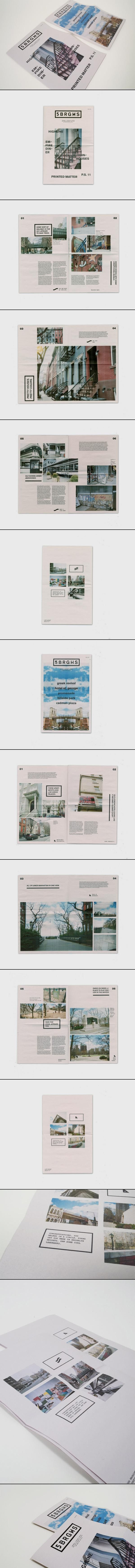 http://www.behance.net/gallery/5-BRGHS-Magazine/7807121 mise en page #editorial