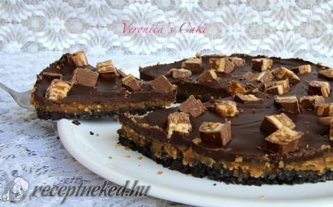 Mogyoróvajas snickers pite